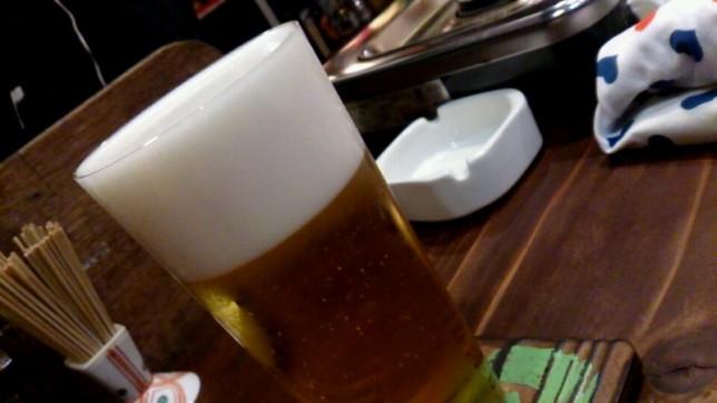 ビールの泡が細かい