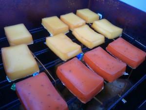 トマト&バジルのスモークチーズ