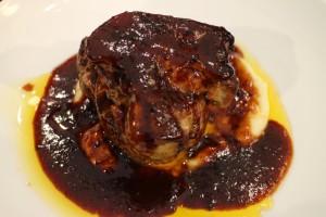 仔牛フィレ肉のロッシーニ