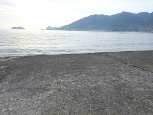 尾鷲港天満浦突堤外向き
